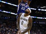 NBA常规赛:76人124-131鹈鹕