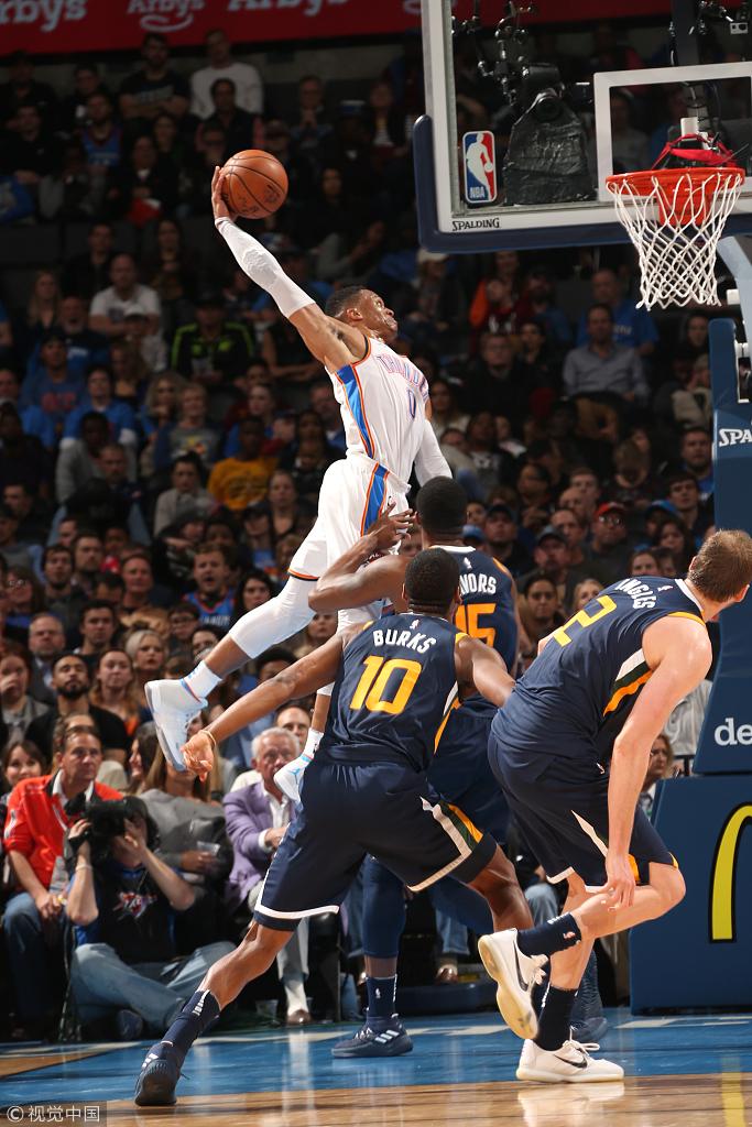 久違的大勝!雷霆勝率重返50%以上 防守效率升第一,Russell Westbrook13投10中,24分10籃板7助攻4搶斷證明自己