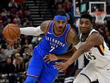NBA常规赛:雷霆103-89爵士