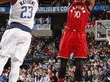 NBA常规赛:猛龙93-98小牛