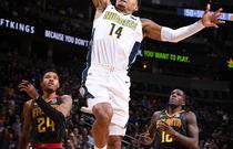 NBA常规赛:老鹰110-97掘金