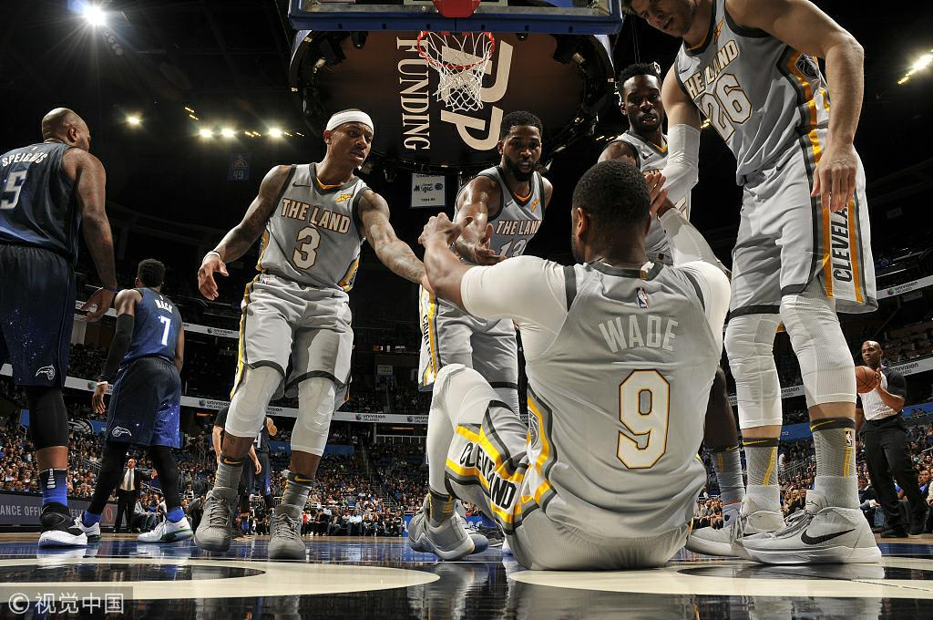 无下限!骑士13场输201分 圣诞后数据全在NBA倒数