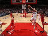 NBA常规赛:奇才101-90公牛