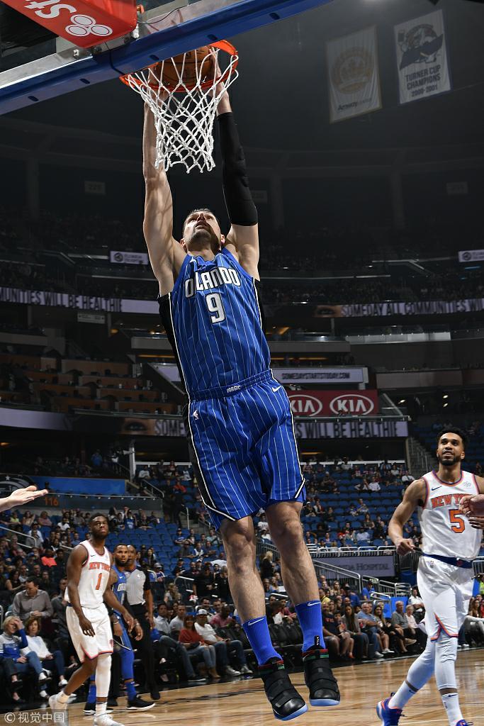 NBA常规赛:尼克斯-魔术