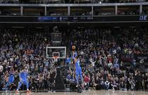NBA常规赛:雷霆110-107国王