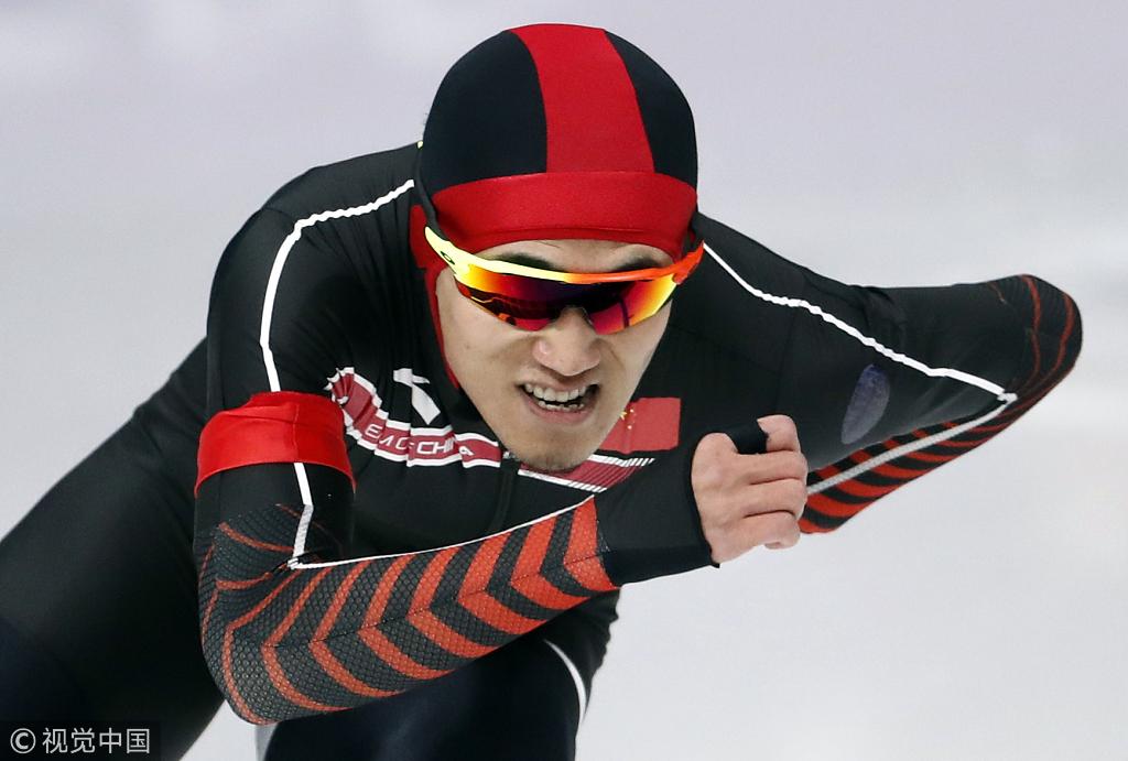 男子速滑1000米荷兰名将夺金 杨涛获第26名
