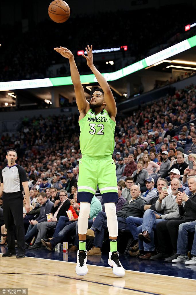 NBA常规赛:公牛-丛林狼