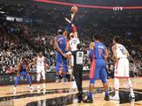 NBA常规赛:猛龙123-94活塞