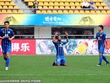 中超第1轮:贵州恒丰1-3江苏苏宁