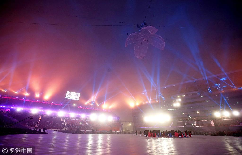 平昌冬残奥会开幕 中国代表团规模空前
