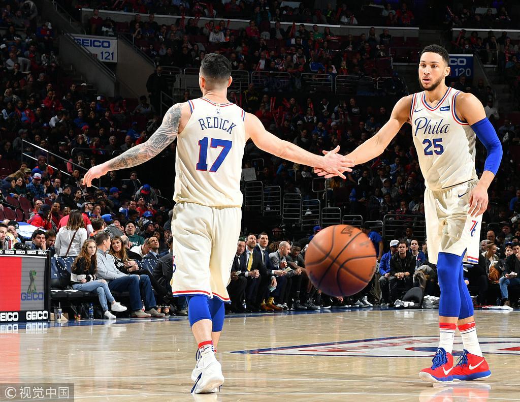 21+8+12!Simmons助攻上雙次數追平戰神,創造76人隊史菜鳥紀錄!(影)-Haters-黑特籃球NBA新聞影音圖片分享社區