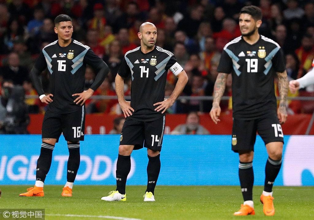 3月28日西班牙vs阿根廷战报