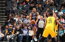 NBA常规赛:步行者123-117黄蜂