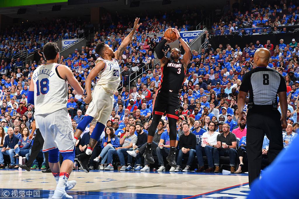Simmons准大三元,韋德11分,76人飆中18三分吊打熱火1-0領先!(影)-Haters-黑特籃球NBA新聞影音圖片分享社區
