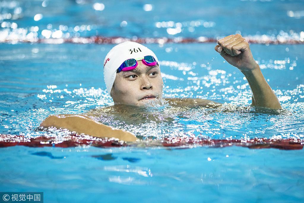 孙杨东京周期以两项为主 恩师:既然他来找我 就一起为奥运努力