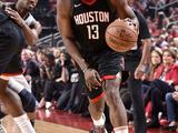 NBA季后赛首轮:森林狼82-102火箭