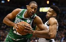 NBA季后赛首轮:凯尔特人92-116雄鹿