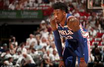 NBA季后赛首轮:76人106-102热火