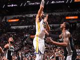 NBA季后赛首轮:勇士90-103马刺