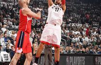 NBA季后赛首轮:猛龙108-98奇才