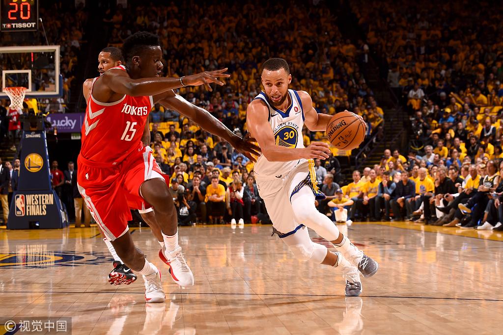 41分屠殺!勇士2-1火箭,柯瑞35分,杜蘭特25+6+6,哈登20+9!(影)-黑特籃球-NBA新聞影音圖片分享社區