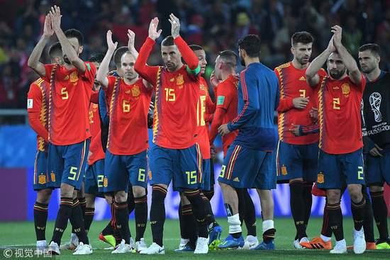 西班牙挺进16强