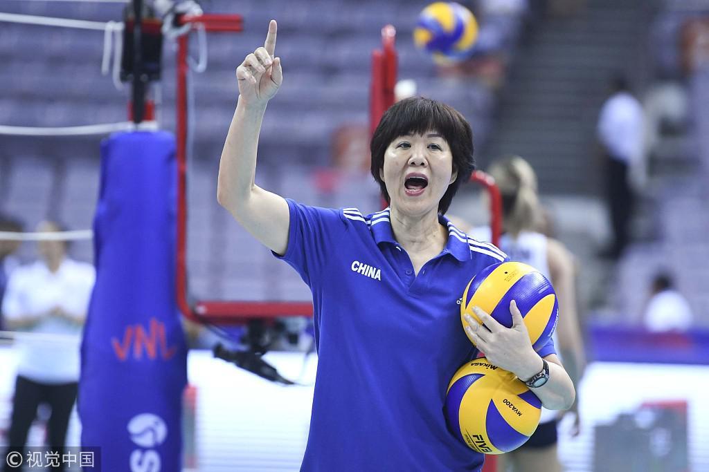 瑞士赛中国女排1