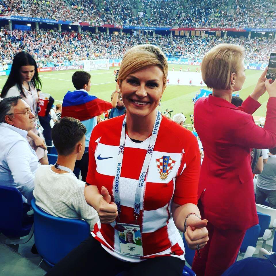 肯尼亚议员被曝公款看世界杯 克罗地亚女总统自费