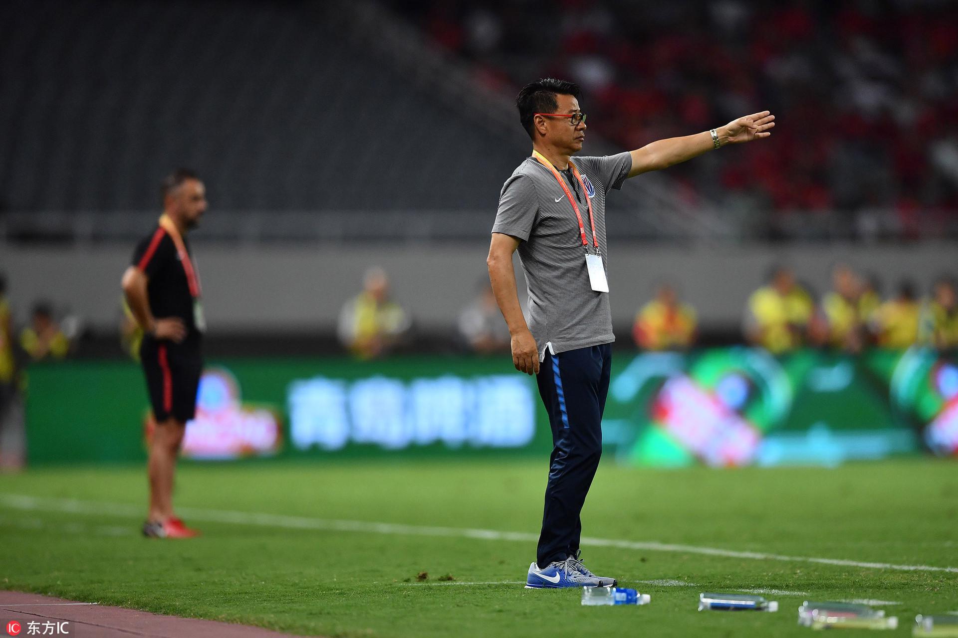 吴金贵提申花目标保级:最后九轮争取五六场胜利