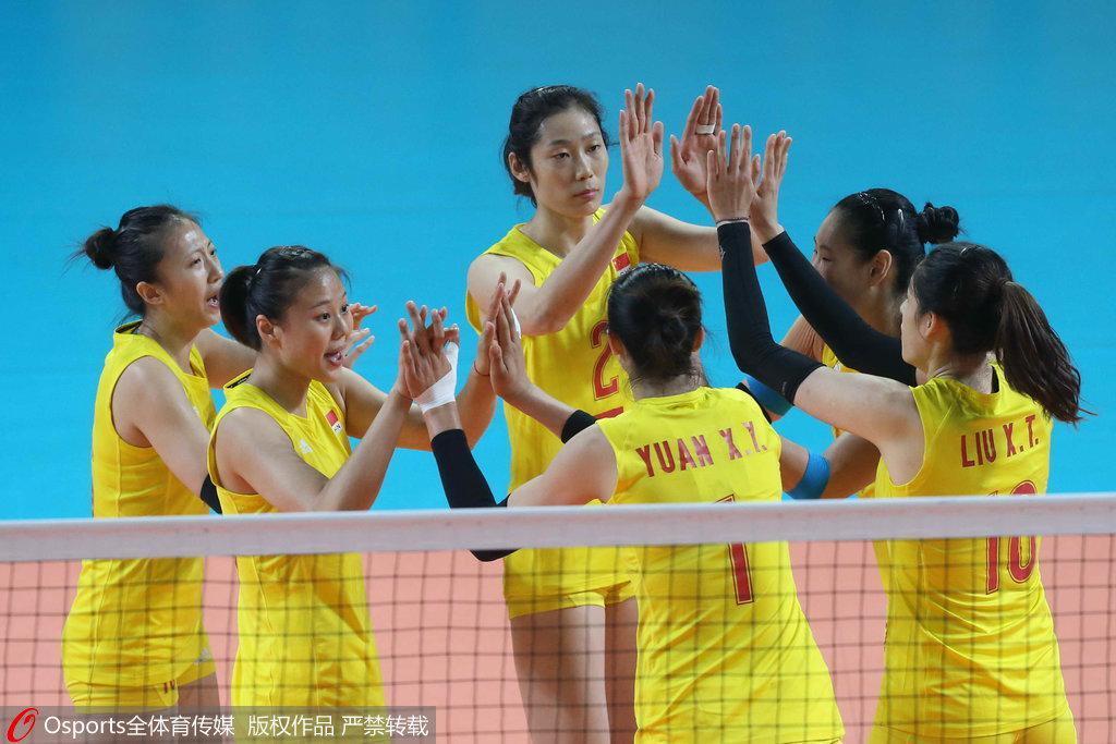 世锦赛中国女排3