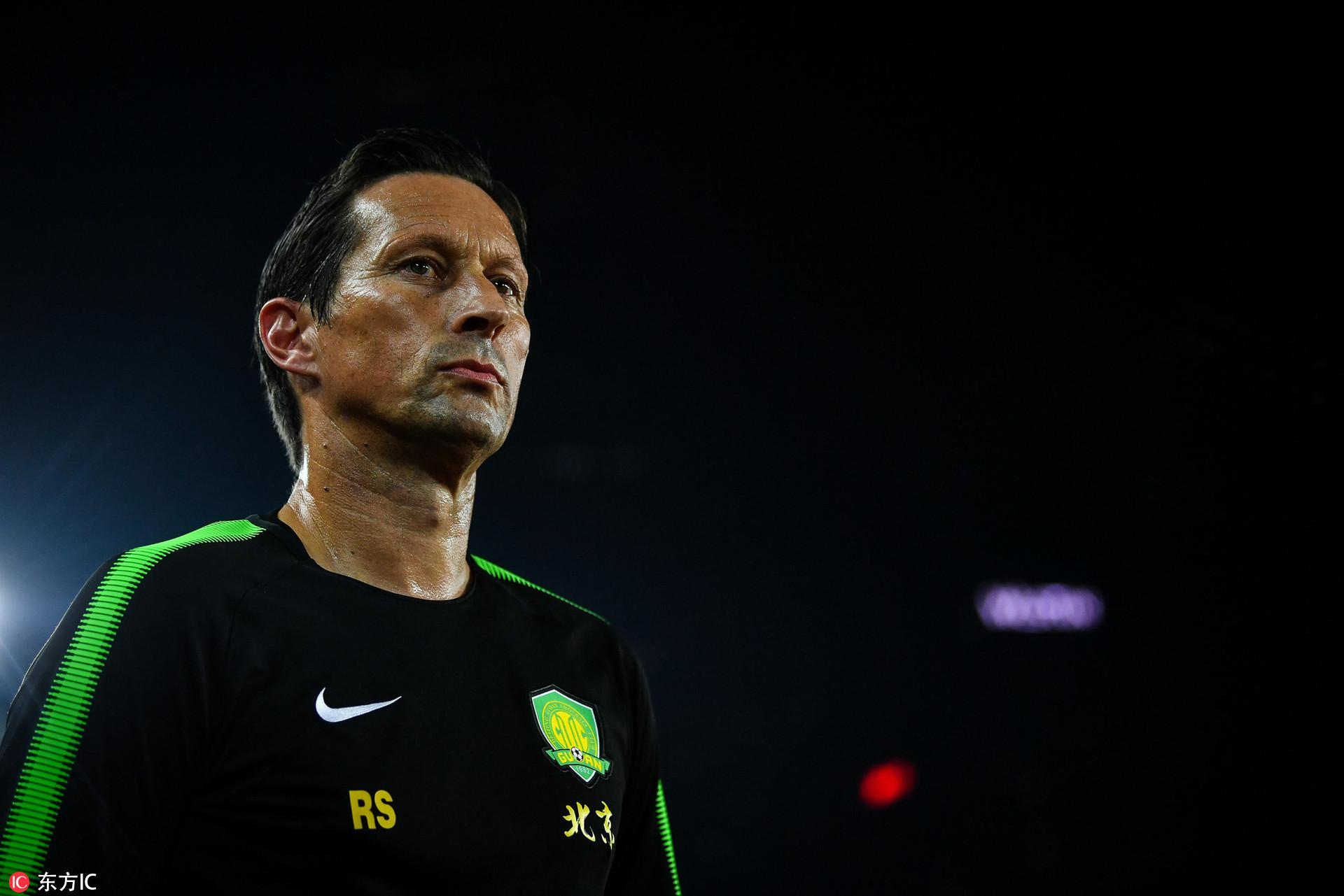 施密特:国安输恒大不丢人 球队目标只是亚冠资格