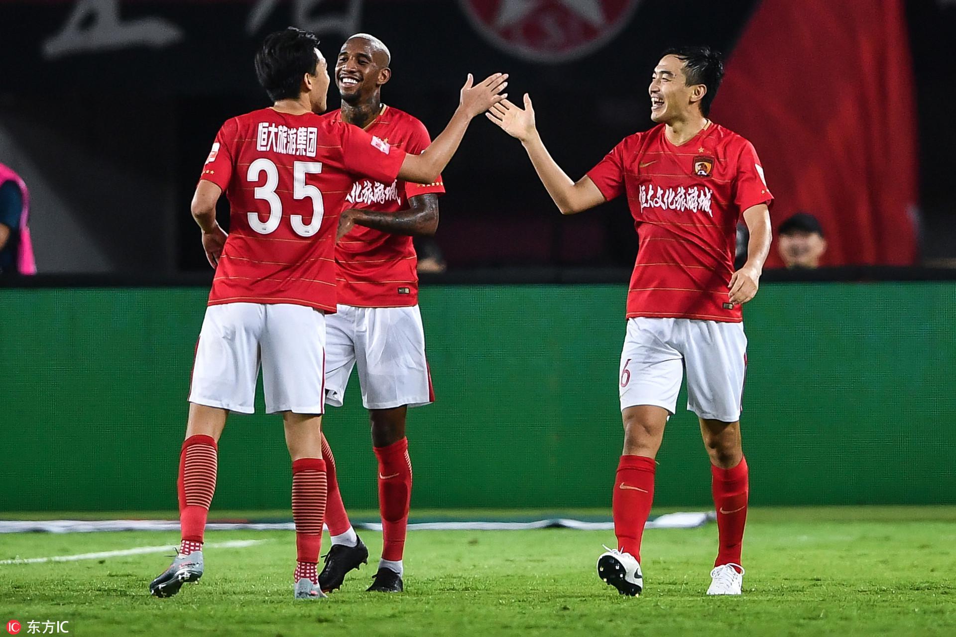 冯潇霆:今年目标是进2球 恒大赢球才是最重要的