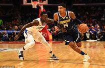 NBA季前赛:掘金103-109快船