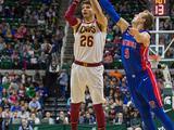 NBA季前赛:活塞129-110骑士