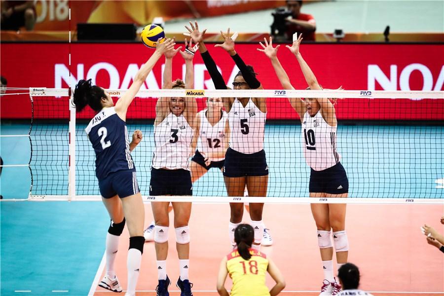 国际排联主席:多地申办2022女排世锦赛 包括中国