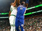 NBA常规赛:76人87-105凯尔特人