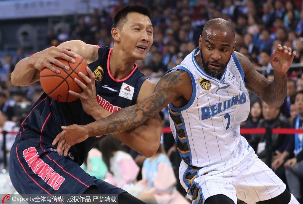 CBA常规赛第1轮:北京男篮84