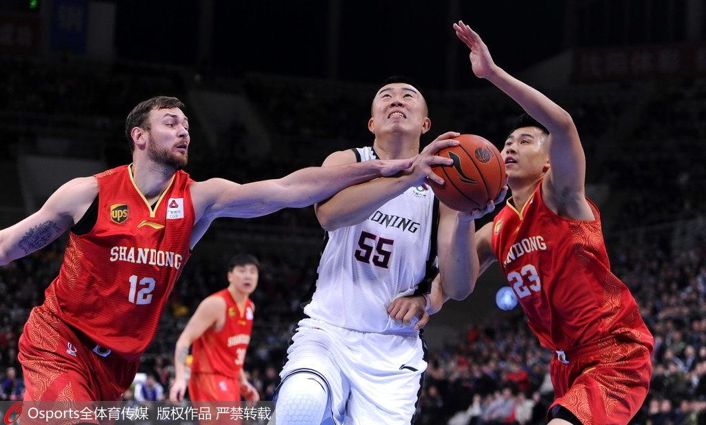 CBA常规赛第1轮:辽宁男篮113