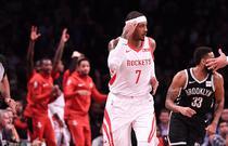 NBA常规赛:火箭119-111篮网