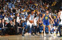 NBA常规赛:勇士116-99森林狼