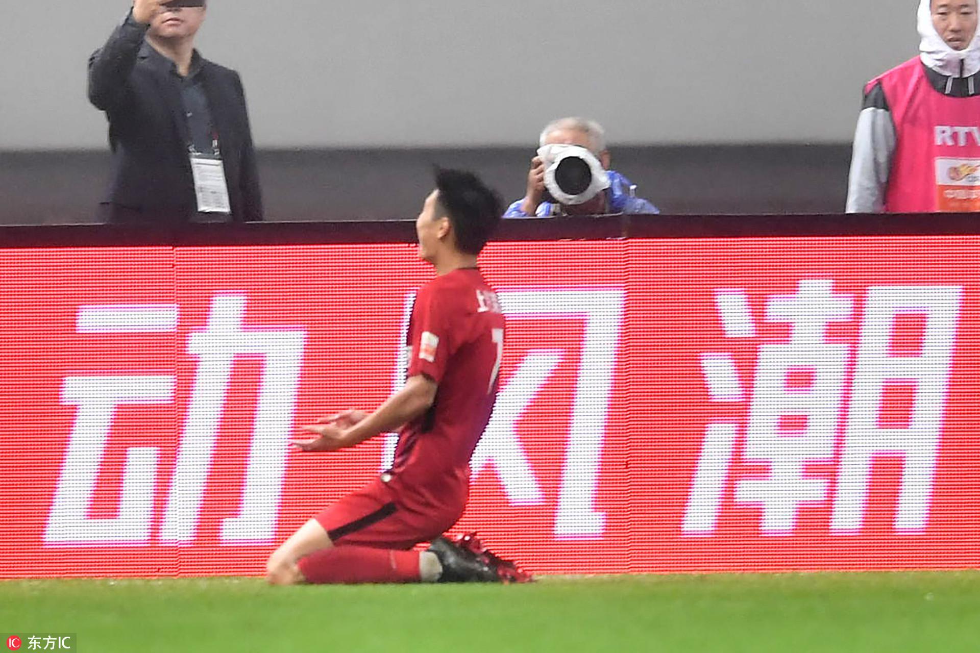 央视解说:武磊们终于成熟了 上海足球骄傲的一天
