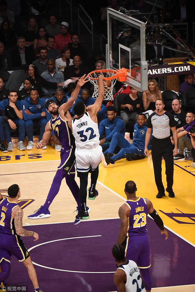 完成復仇!詹姆斯准大三元湖人險勝灰狼   羅斯轟7顆三分錯失關鍵球(影)-Haters-黑特籃球NBA新聞影音圖片分享社區