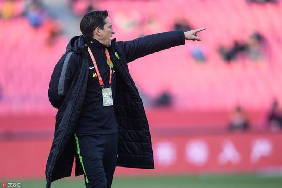 施密特:我们目标是足协杯冠军 冠军对北京意义非凡