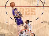 NBA常规赛:湖人85-117掘金