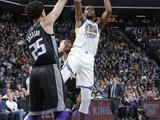 NBA常规赛:国王125-130勇士