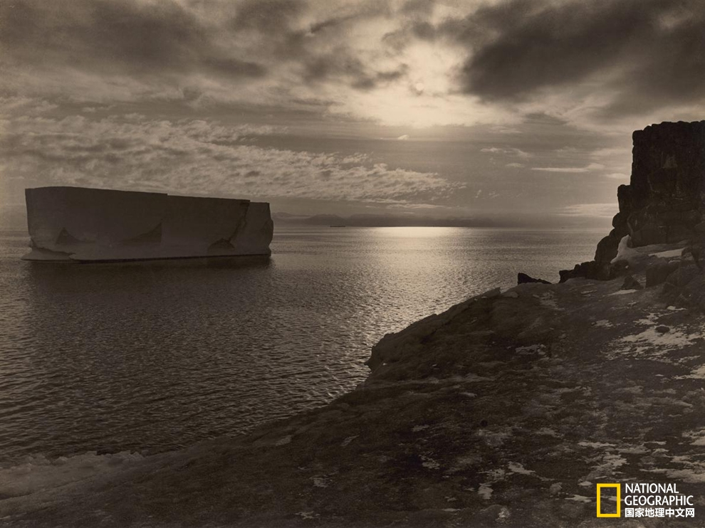 100年前的旧照,展现你从未见过的南极大陆