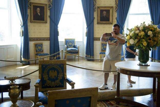 白宫竟然是山寨的?