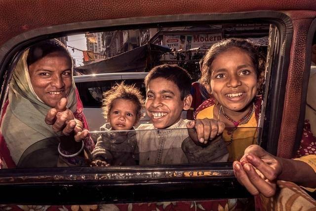"""去印度旅行 你也可以体验一把""""疯狂出租车"""""""