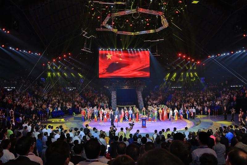 受瞩目的第三届中国国际马戏节在珠海横琴长隆国际海洋度假区横琴