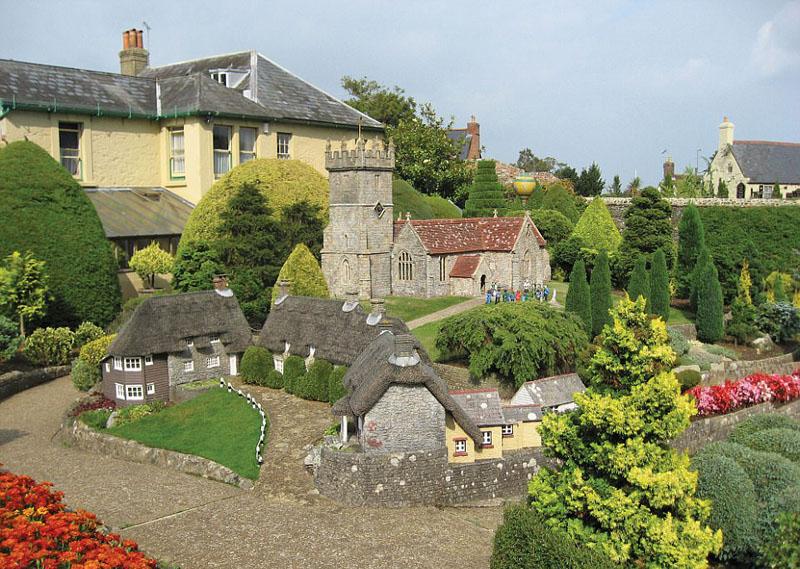 珍贵照片记录英国模型村落真实面貌